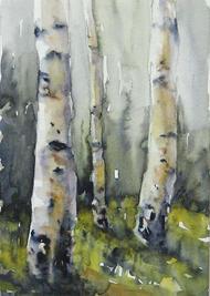 Aspens at Cedar Breaks by  Debbie Robb