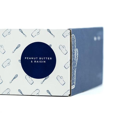 Peanut Butter & Raisin Premix Box