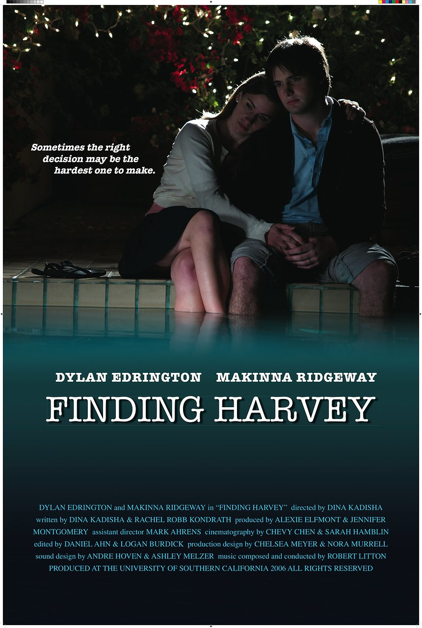 Finding Harvey Movie Poster