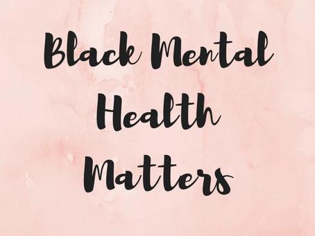 Black mental health matters: what does breaking the stigma look like?