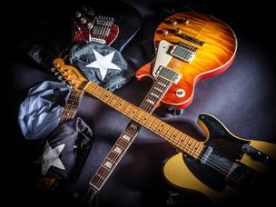 My beanies, my guitars