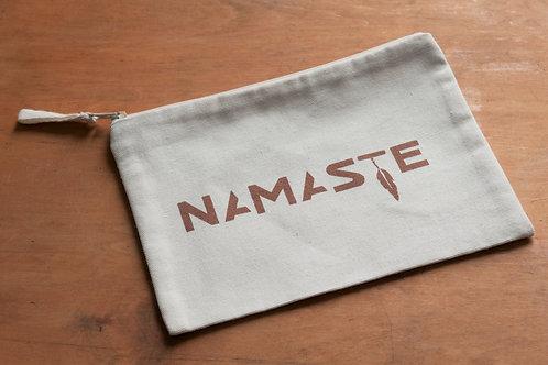 NAMASTE pencilcase/make-up bag natural