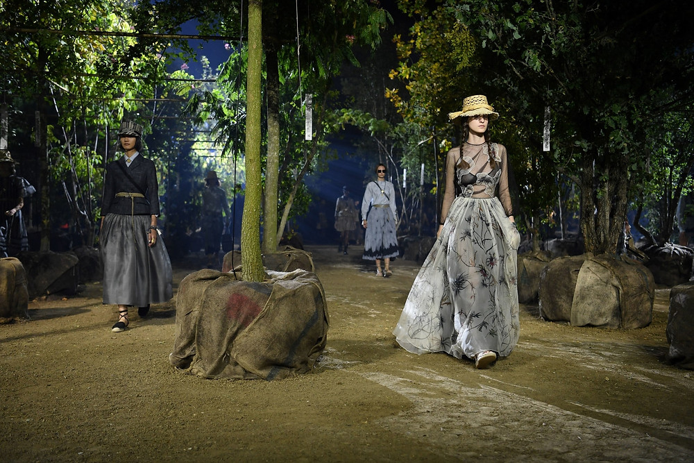 Dior models Spring 2020 collection