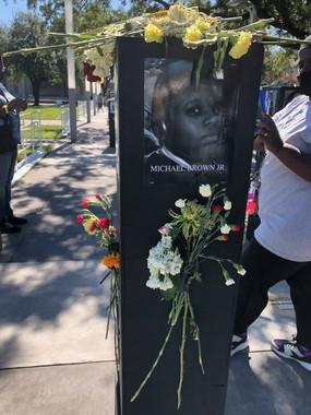 Michael Brown Jr. 'Say Their Names' memorial