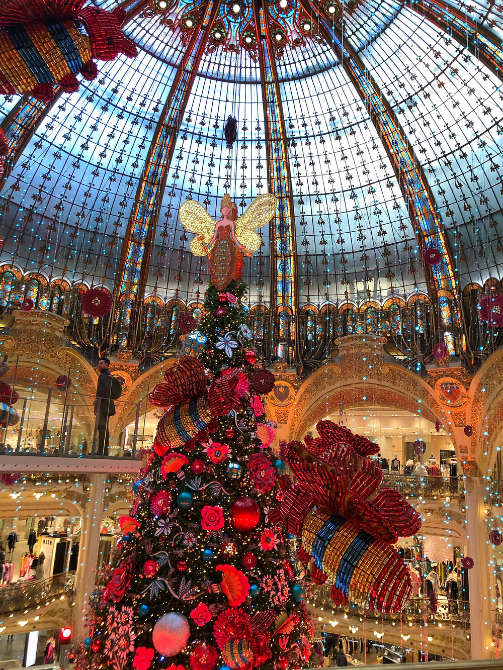 Galleries Lafayette 2019 Christmas display