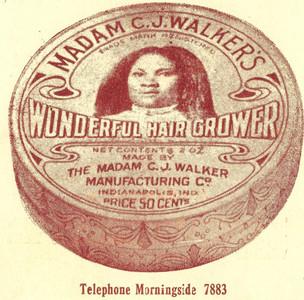 Madame C.J. Walker hair pomade