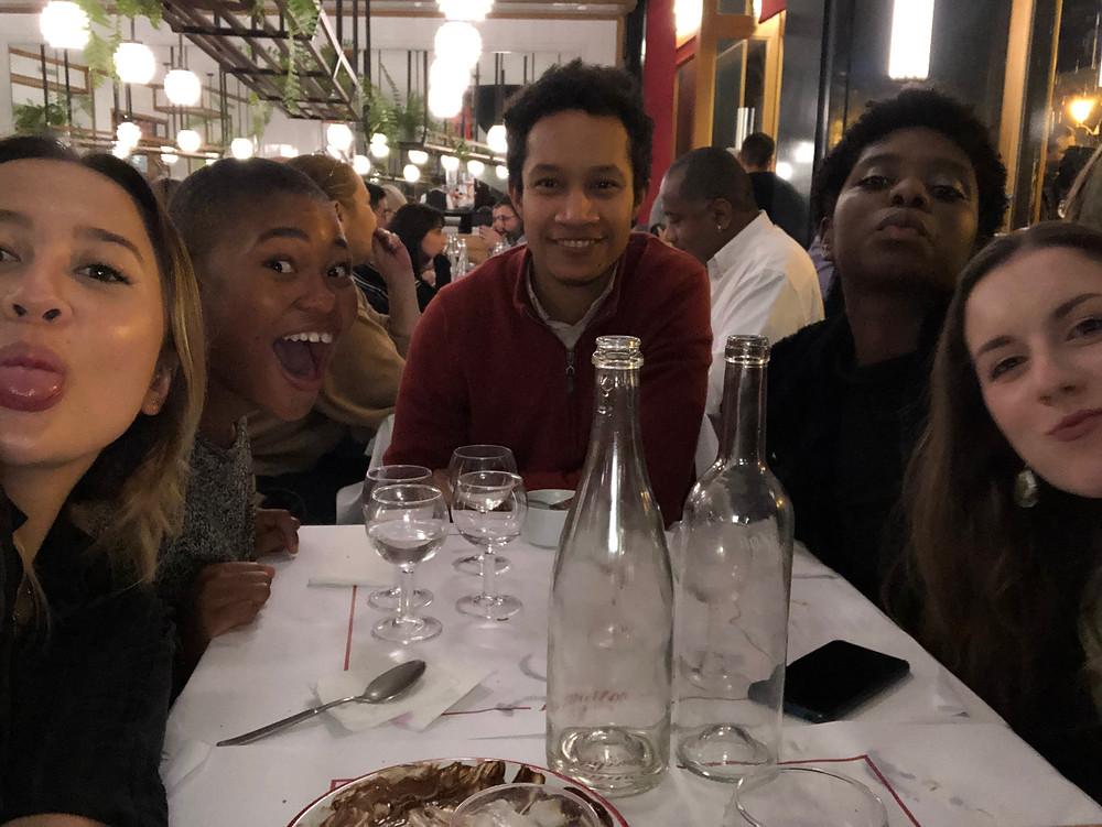 Friendsgiving in Paris