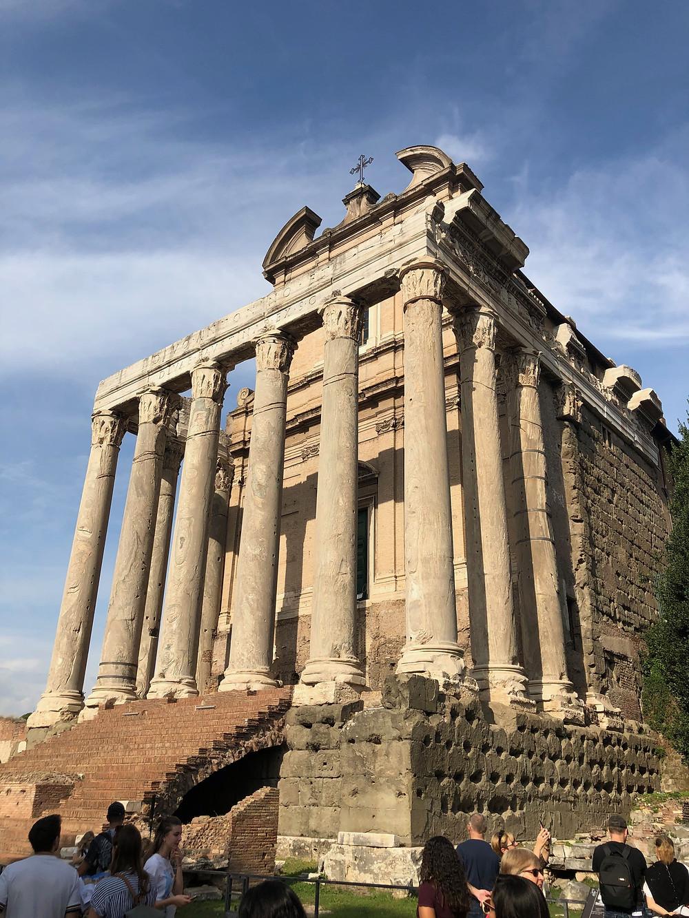 chapel in the Roman Forum