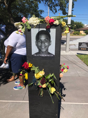 Trayvon Martin 'Say Their Names' memorial