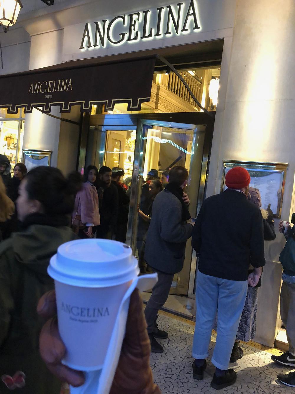 Angelina hot chocolate Paris