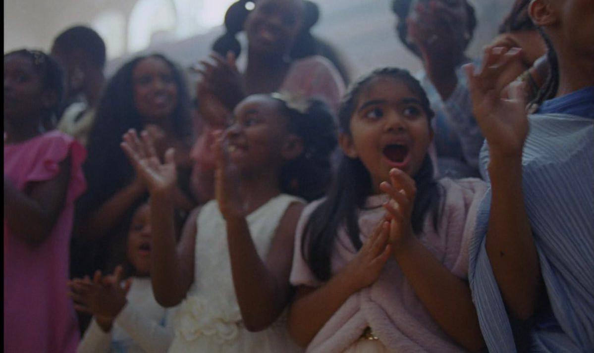 South Asian girl in 'Brown Skin Girl' video