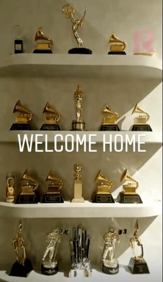 John Legend's Trophies