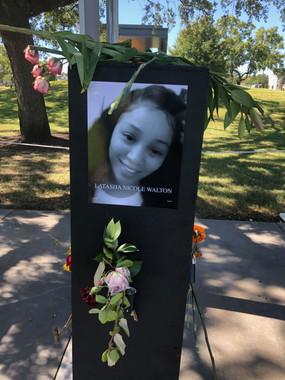 Latasha Nicole Walton 'Say Their Names' memorial
