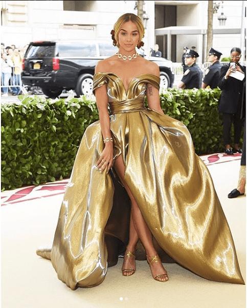 Jasmine Sanders Met Gala 2018