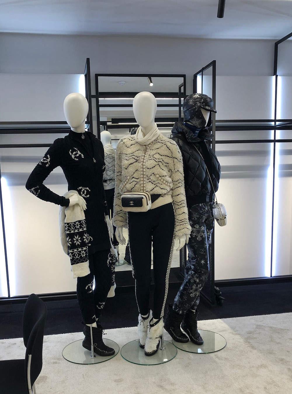Chanel mannequins