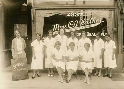 Madame C.J. Walker hair school