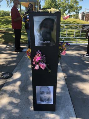 "Mya Hall & Brayla Stone ""Say Their Names' memorial"