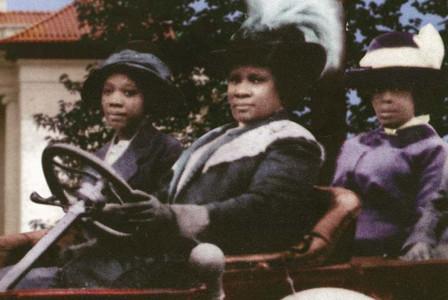Madame C.J. Walker with ladies in car
