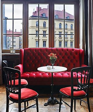 Interieurfotografie vom Lenbach Palais in München by Fabio Grazioli Fotografie mit Dekos von Regine Pilz Eventdekoration