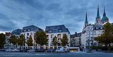 Immbobilienobjekt Bavaria Palais am Bavariaring München - von Concept Bau - Immobilienfotografie Fabio Grazioli Fotografie