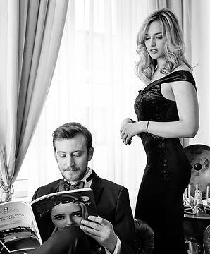 Fotoshooting und Portraits für das Cover einer Luxuszeitschrift für Mode und Lifestyle