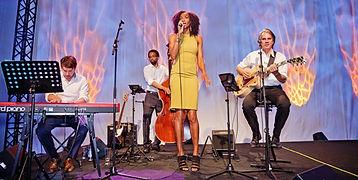 Norisha Campbell Quartett - Jazz Band - Bühnenfotografie - Event