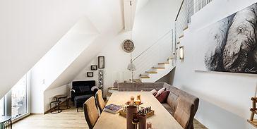Immobilienfotografie und Architekturfotografie eines Immobilienobjektes in Dachau für die Geschäftsstelle VON POLL IMMOBILIEN Dachau.