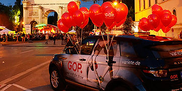 Fotobegleitung GOP Stand am Streetlife