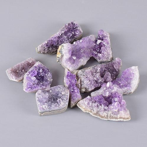 10 Pieces Raw Amethyst Stone 3-8 Cm