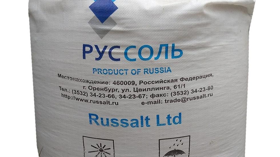 Концентрат минеральный - галит Затаренный в мягкий контейнер по 1000 кг.