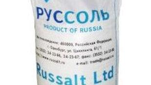 Соль поваренная пищевая молотая Затаренная в полипропиленовый мешок по 50 кг.