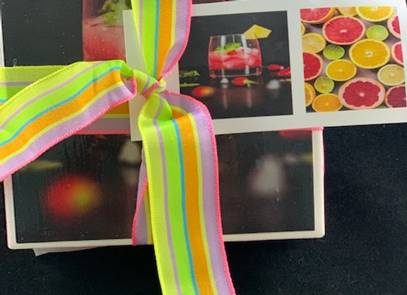 Tile Coasters - Fruit Drinks
