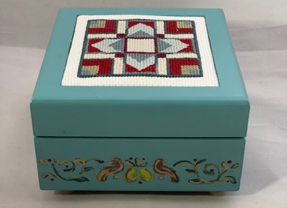 Holiday Shop - Quilt Square #3