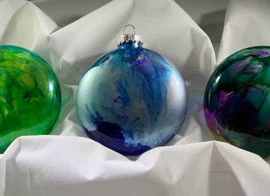 Holiday Shop - #1 Set of 3 Ornaments
