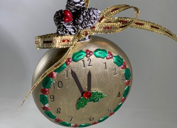 Holiday Shop - Almost Midnight Ornament
