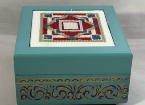 Holiday Shop - Quilt Square #4