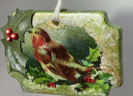 Holiday Shop - Peace on Earth Wren