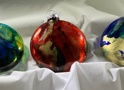 Holiday Shop - #2 Set of 3 Ornaments