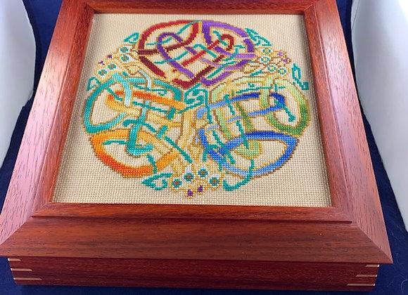 Celtic Designs - Golden Dragons
