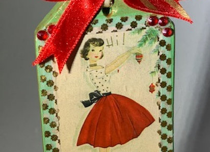 Holiday Shop - Red Skirt Party Girl
