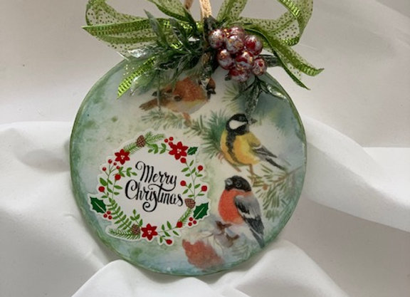 Holiday Shop - Merry Christmas Finches