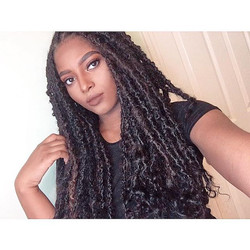 Human hair goddess locs on this beauty 😍😍 #thebohobabe #thegoddesslocsgirl #goddesslocs #tampagodd