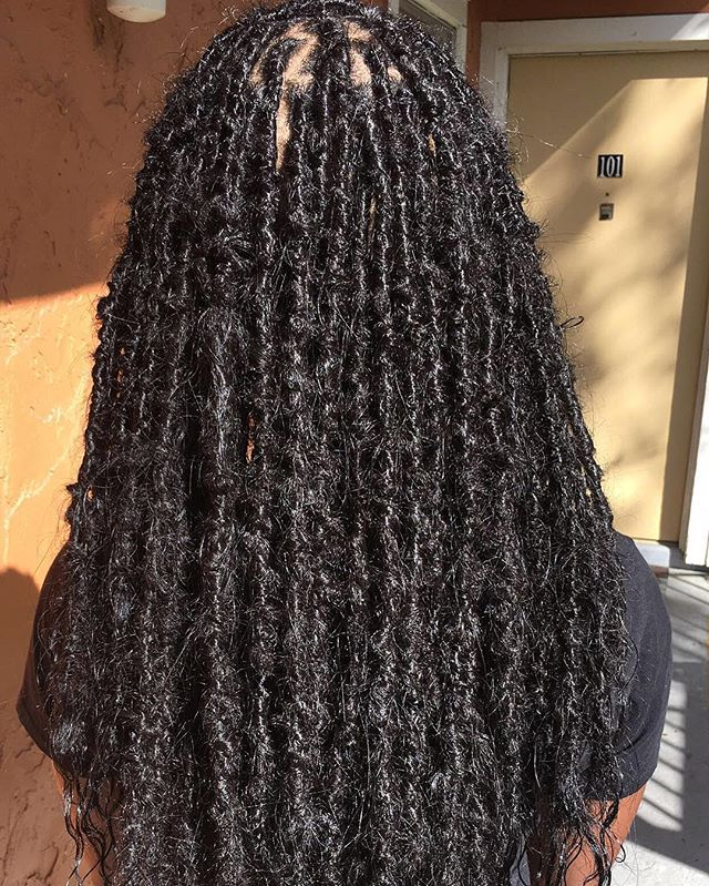 With the these locs get prepared for the question , _ are those your real dreads__ Lol