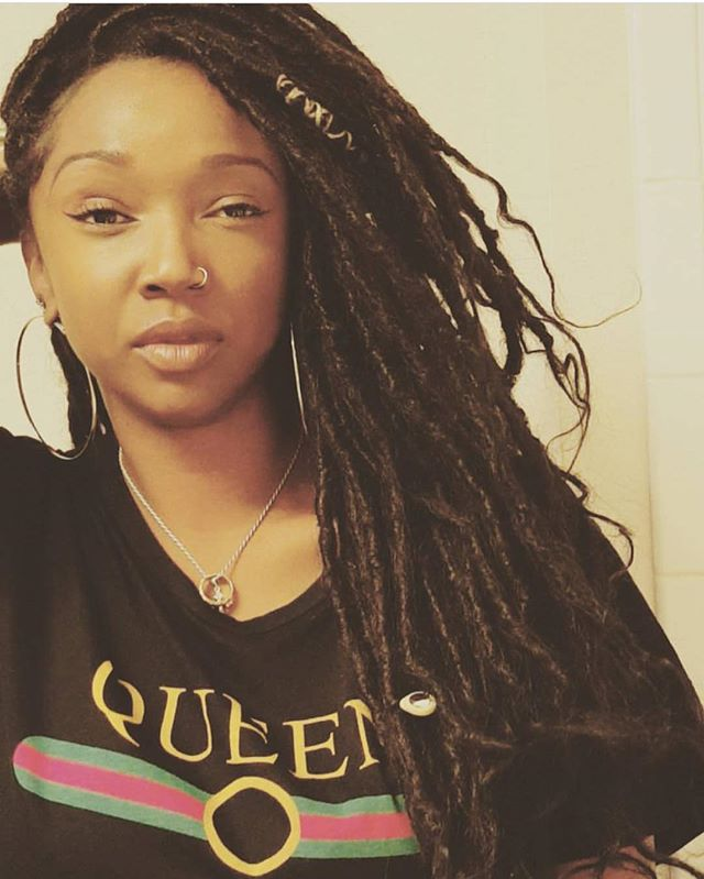 My boo has had in her locs in for almost 3 months now 😍😍😍😍#thegoddesslocsgirl #goddesslocs #tamp