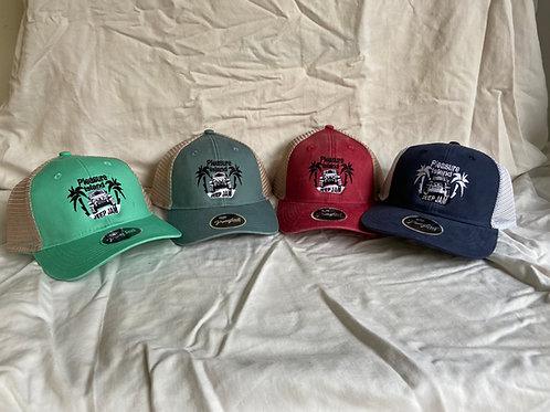 Ponytail mesh back cap