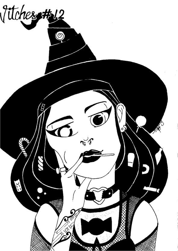 Inktober X 31 Witches challenge