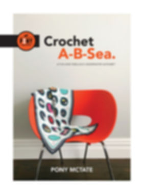 Cover of Crochet A-B-Sea book