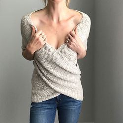 Crochet Wrapture Top by Pony McTate