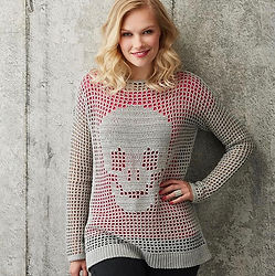 Crochet Skull jumper by Pony McTate in Simply Crochet magazine