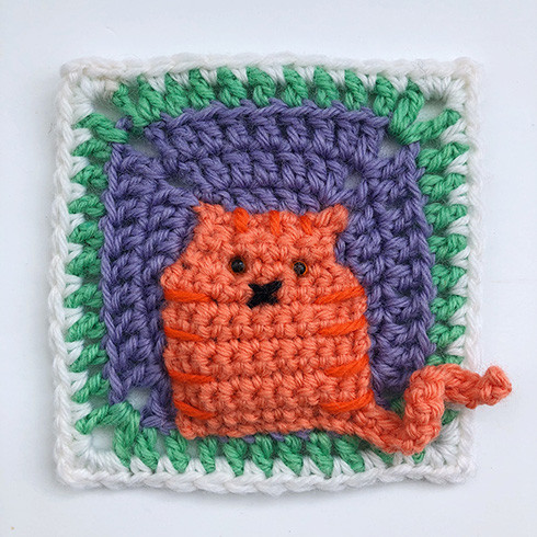 Abstract Crochet Cats Pattern | Beautiful Crochet Stuff | 490x490